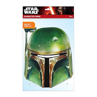Boba Fett Official Star Wars Card Party Fancy Dress Mask