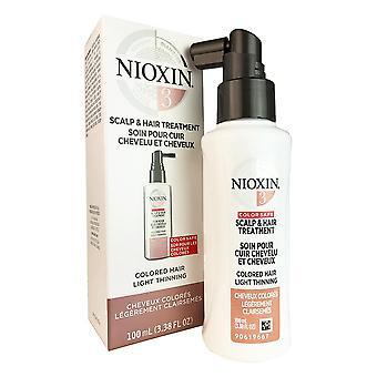 Tratamento de couro cabeludo Nioxin sistema #3 3,4 oz
