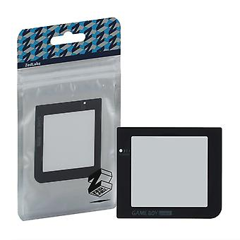 Zedlabz replacement screen lens plastic cover for nintendo game boy pocket - black
