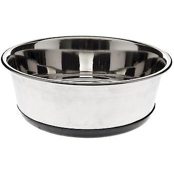 Ferribiella Inox Bowl W. Detach. Rub. Lt. 1,75 (Dogs , Bowls, Feeders & Water Dispensers)