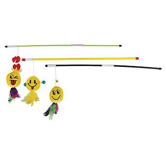 Trixie Playing Rod with Smile, 50 cm (Cats , Toys , Teaser Wands)