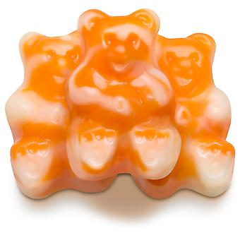 Albanese Orange Cream Bearsicle Gummi Bears -( 19.95lb Albanese Orange Cream Bearsicle Gummi Bears)