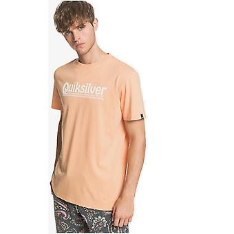 Quiksilver New Slang Short Sleeve T-Shirt à Coral Sands