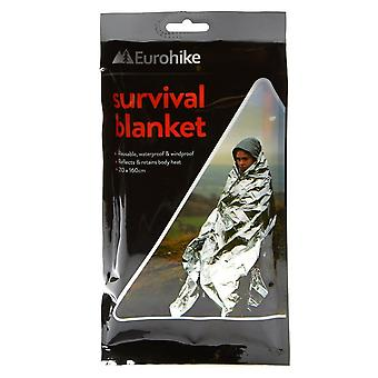 New Eurohike Survival Blanket Outdoors Camping Silver