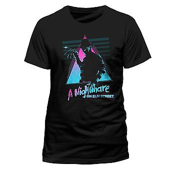 Men's Retro Nightmare on Elm Street Crew Neck T-Shirt