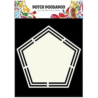 Dutch Doobadoo Dutch Shape Art Pentagon A5 470.713.151