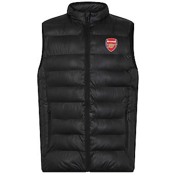 Arsenal FC Official Football Gift Mens Padded Body Warmer Jacket Gilet