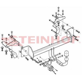 Steinhof Towbar (fixiert 2 Schrauben) für Suzuki LIANA Estate 2001-2007