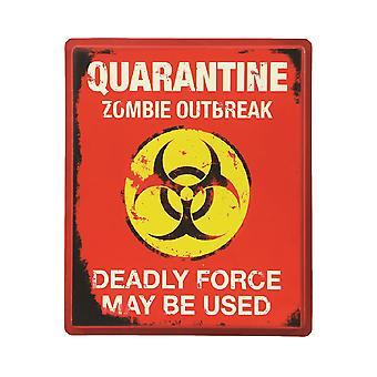 Bristol Novelty Quarantine Sign