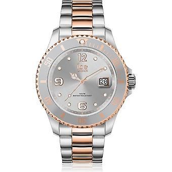 Ice Watch Watch Unisex ICE steel Silver rose-gold Small 017322