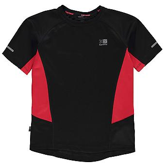 Karrimor Kids Short Sleeved Running T Shirt Juniors