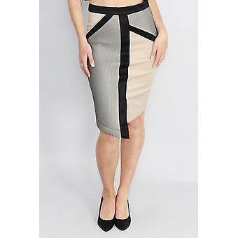 The game changer midi skirt