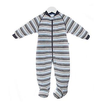 uh-oh! Baby Sleeping Bag with Legs 3.0 tog Warmth Rating Multi Blue Stripe