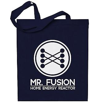 Back To The Future Mr Fusion Home Energy Reactor Totebag
