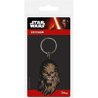 Star Wars Chewbacca Rubber Sleutelhanger