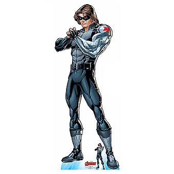 Winter Soldier Official Lifesize Marvel Avengers Cardboard Cutout