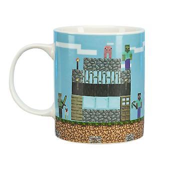 Minecraft, Mug - Build a Level
