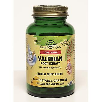Solgar Standardized Valerian Root Extract Vegetable Capsules 60ct