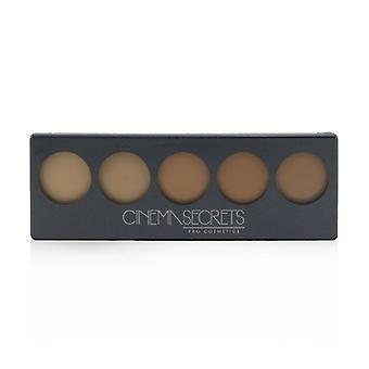 Cinema Secrets Ultimate Foundation 5 In 1 Pro Palette - # 400 Series (Medium Peach Beige Undertones) 12.5g/0.44oz