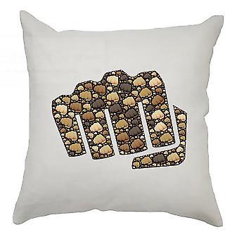 Emoji Cushion Cover 40cm x 40cm Fist
