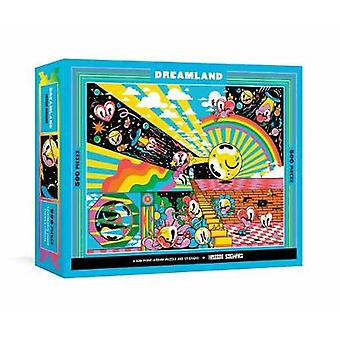 Dreamland - A 500-Piece Jigsaw Puzzle & Stickers by Hattie Stewart
