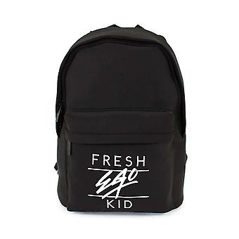 Fresh Ego Kid | Fek-599 Heritage Logo Backpack - Black