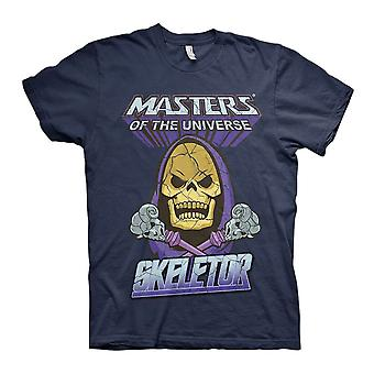 Men's Masters of the Universe Skeletor Navy Crew Neck T-Shirt