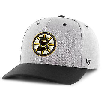 47 Brand Snapback Cap - STORM CLOUD Boston Bruins