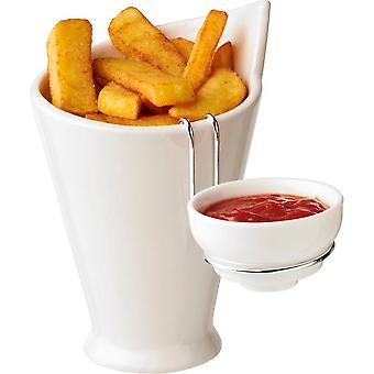 Avenue Chase Fries And Sauce Holder