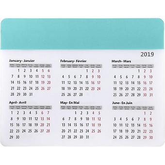 Bullet chart musemåtte med kalender