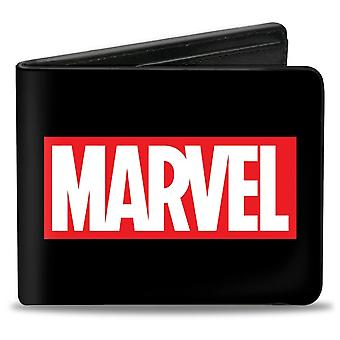 Marvel Box Logo Black Bi-Fold Wallet
