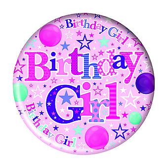 Simon Elvin Birthday Girl Giant Badge