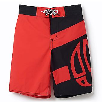 Animal Boys Layka Boardshorts | Watermelon Red