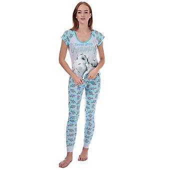 Women's Me To You Tatty Teddy Pyjamas in Blue