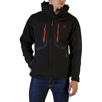 Geographical Norway - Clothing - Jackets - Tinin_man_black - Men - black,red - XL