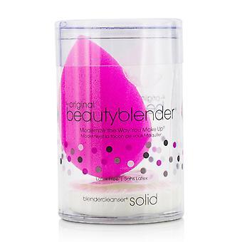 Beauty blender with mini solid blender cleanser kit original (pink) 207564 2pcs