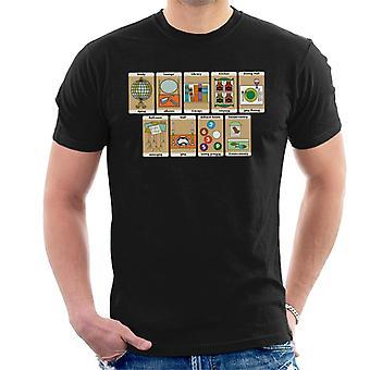 Hasbro Cluedo Zimmer des Herrenhauses Herren's T-Shirt