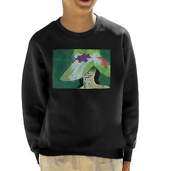 Lørdag kveld Post Lady I Green Coby Whitmore Kid's Sweatshirt