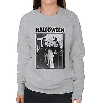 Halloween Michael Myers Portrait Women's Sweatshirt