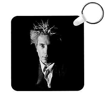 Black And White John Lydon Johnny Rotten Of Public Image Ltd Key Ring