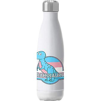Tranosaurus Pride Dinosaur Insulated Stainless Steel Water Bottle