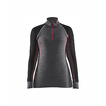 Blaklader ladies zip-up thermal top 72991736 - womens