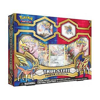 Pokemon Zacian Premium Figure & Pin Collection
