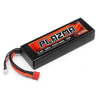 HPI 101942 Plazma 7.4V 5300mAh 2 s 30C LiPo Rechtecke Harttasche Stick Pack