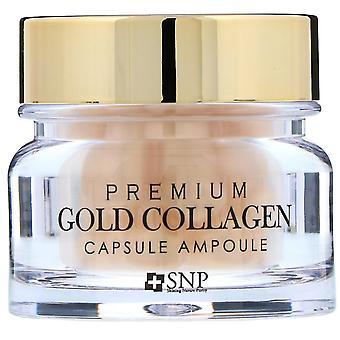 SNP, Premium Gold Collagen Capsule Ampoule, 30 Capsules
