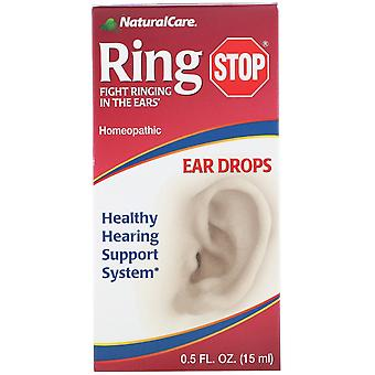 NaturalCare, Ring Stop, Ear Drops, 0.5 fl oz (15 ml)