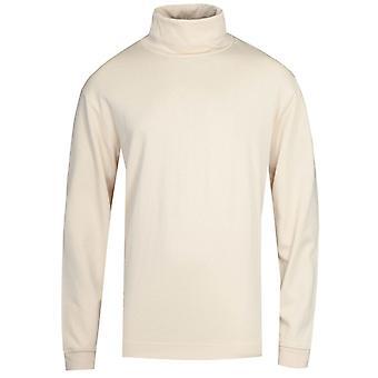 NN07 Zyron Roll Neck 3442 White Sweatshirt