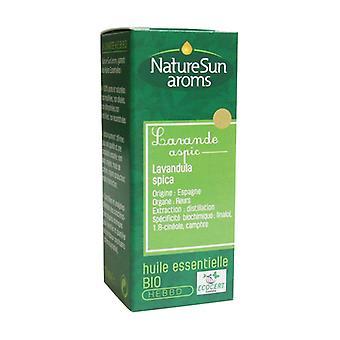 Organic aspic lavender essential oil 10 ml of essential oil