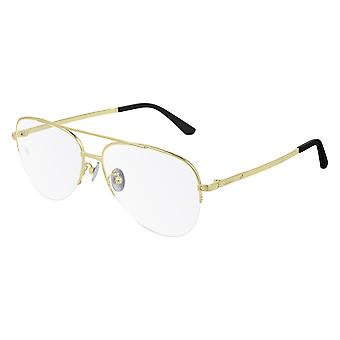 Cartier CT0256O 001 Gold Glasses