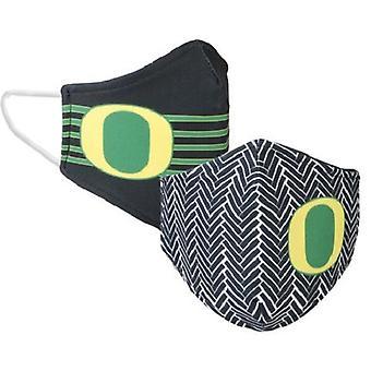 Oregon Ducks NCAA Desden Máscara Facial Reversível